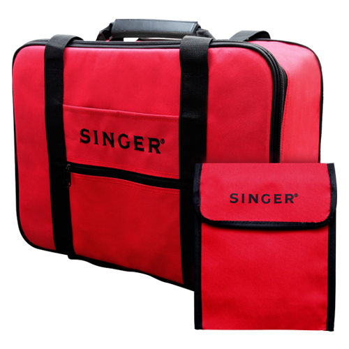 SINGER Foldable Sewing Bag - Red